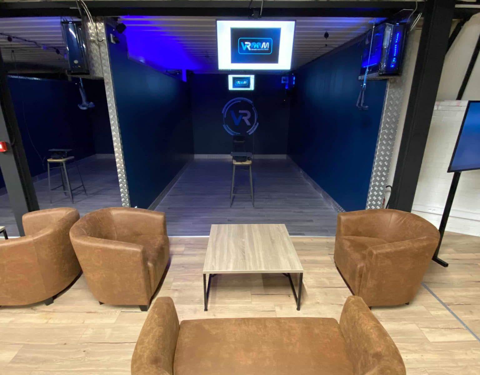 Bar LOUNGE - Réalité Virtuelle - VRoom Chauny