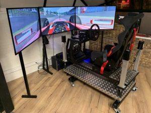 simulateur de course professionnel - Réalité Virtuelle - VRoom Chauny