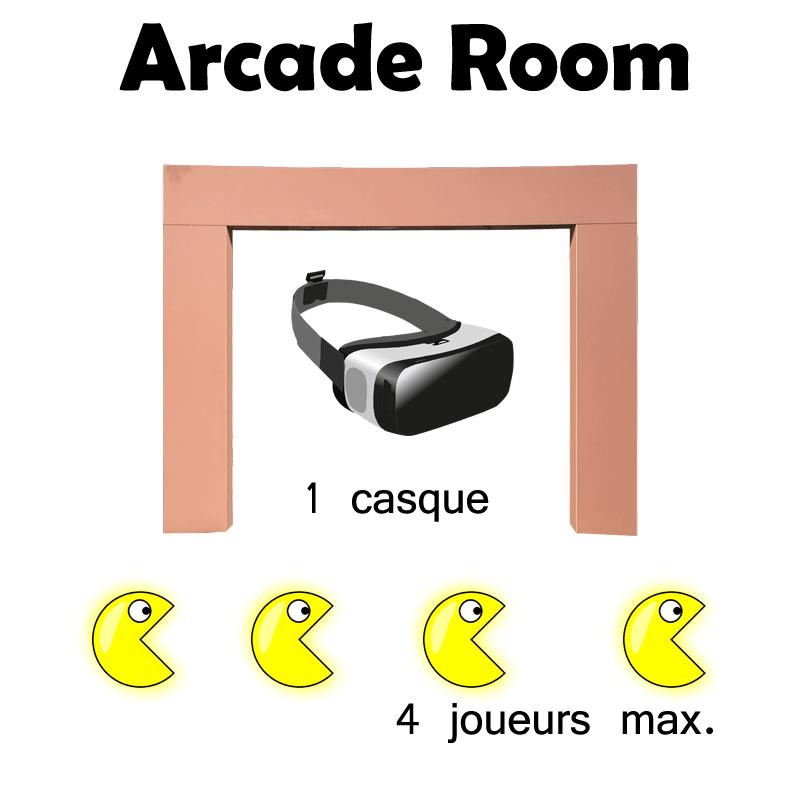 Arcade-room - VRoom - myvroom.fr